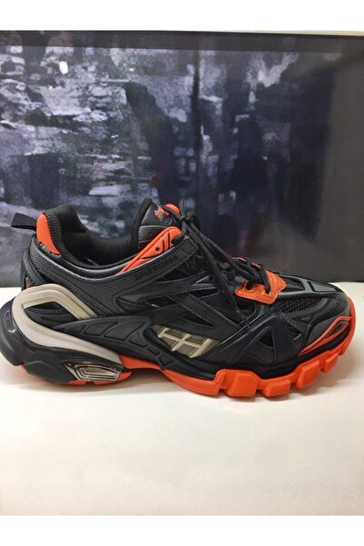 Balenciaga Erkek Siyah Track 2  Sneaker