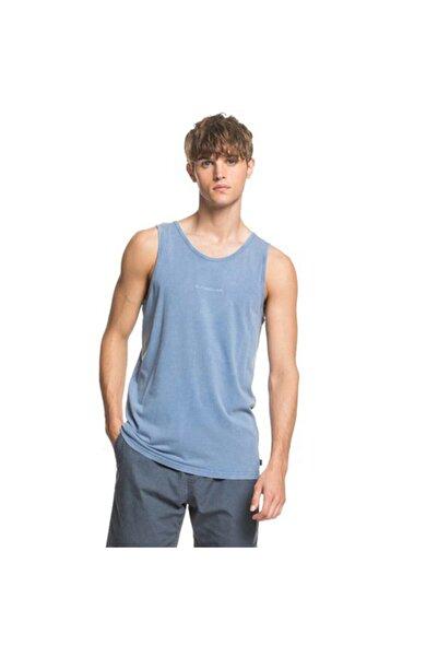 Quiksilver Erkek Mavi Spor T-shirt