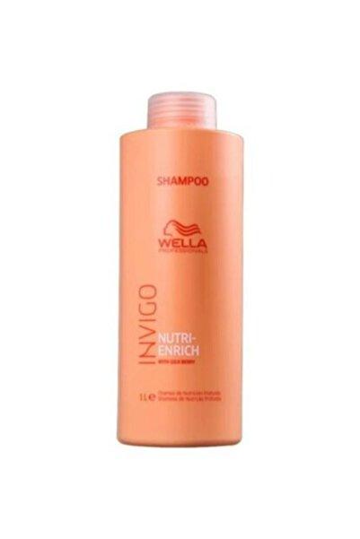 Wella Invıgo Nutri Enrich Yıpranmış Saçlar Için Kuru Besleyerek Canlanııcı Şampuan 1000 ml