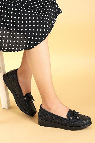 Ayakland Günlük Orto Pedik Anne Cilt Babet Ayakkabı Wbbt 215