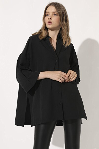 Arma Life Kadın Siyah Gömlek