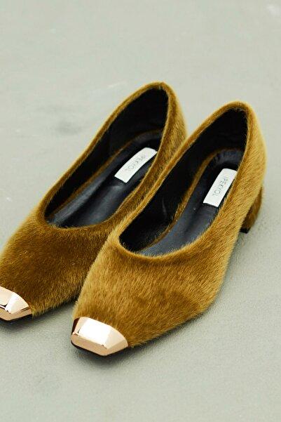 İpekyol Kadın Haki Gold Aksesuarlı Ayakkabı  IW6200030002