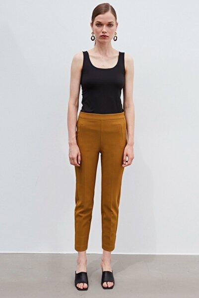 İpekyol Kadın Yeşil Klasik Kesim Pantolon  IW6200003139