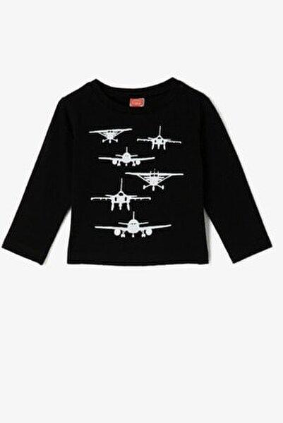 Siyah Erkek Bebek T-Shirt