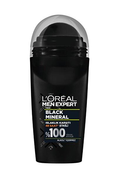 L'Oreal Paris Men Black Mineral Roll-on 50 Ml