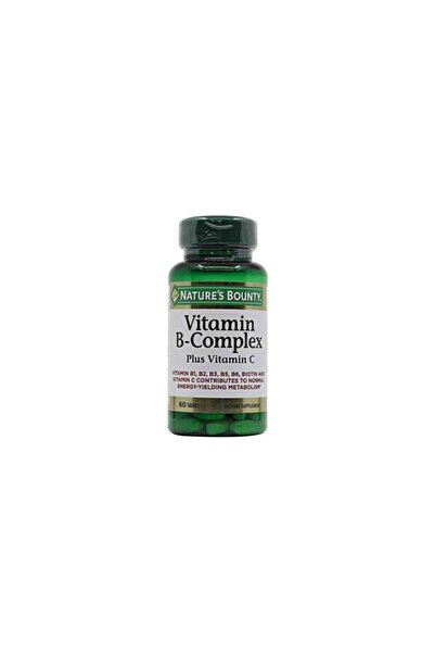 Nature's Bounty Vitamin B-complex 60 Tablet