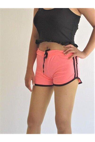 Zirve Kadın Fuşya Renkli Penye Şort