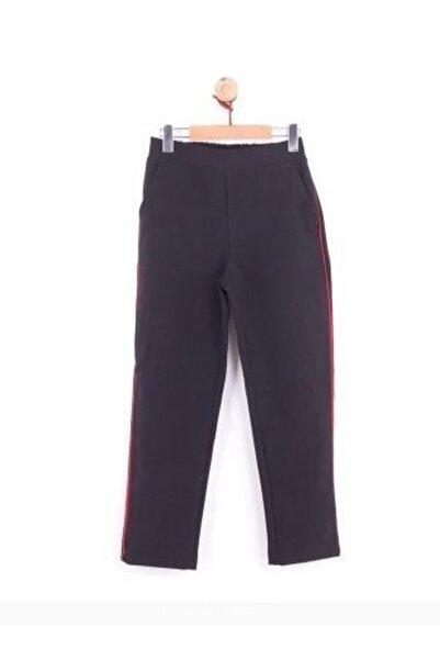 Riccotarz Kız Çocuk Siyah Şeritli Pantolon