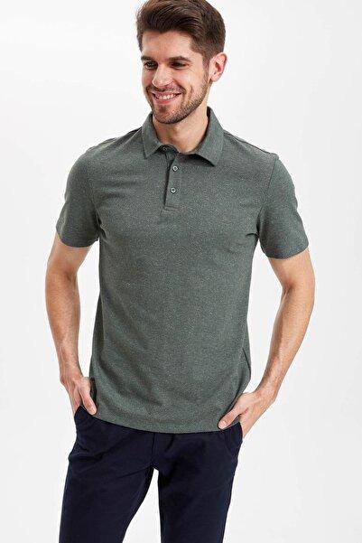 Erkek Yeşil Polo T-shirt K0938AZ.19SM.GN349