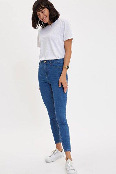 Kadın Mavi Anna Yüksek Bel Super Skinny Jean Pantolon L0595AZ.20SP.NM28