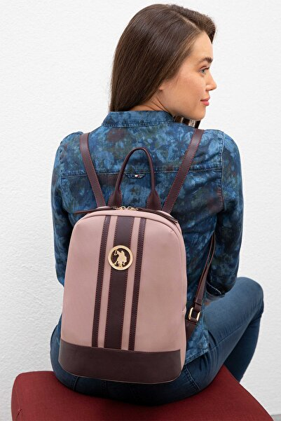 U.S. Polo Assn. Lila-Murdum Kadın Sırt Çantası Us8005