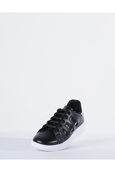 Vision Kadın Siyah Spor Ayakkabı