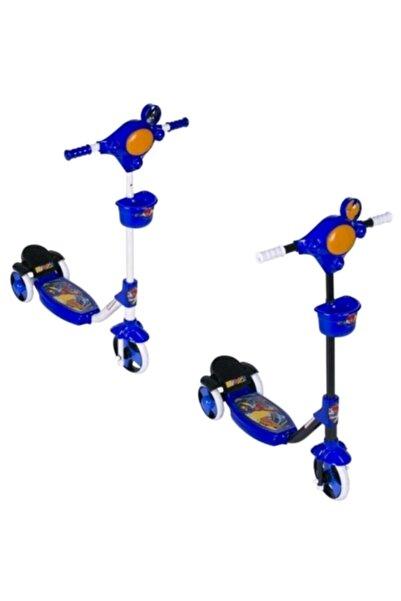 Taşpınar Erkek Çocuk Lacivert 3 Tekerli Frenli Scooter