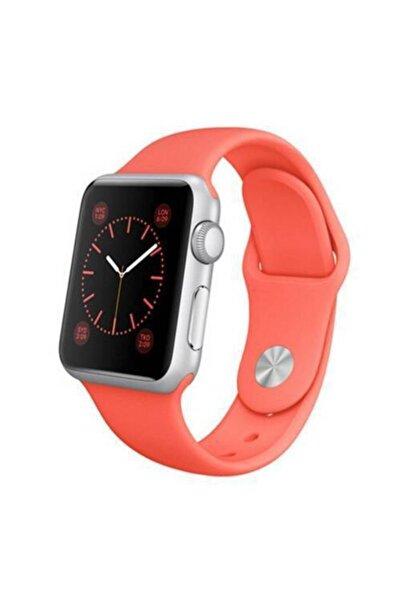 Polhammobile Turuncu For Apple Watch 42 44 mm Apple Watch Series 5 4 3 2 1 Uyumlu Kordon Kayış