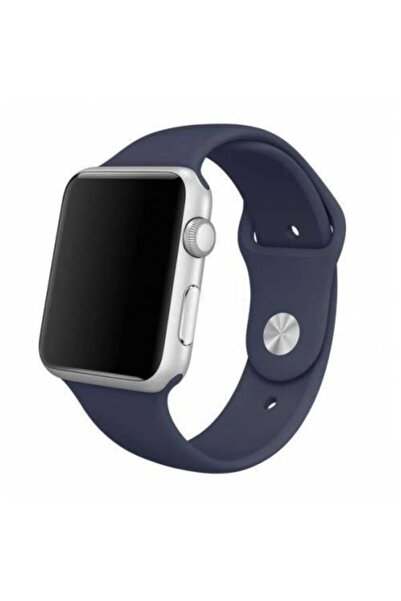 Polhammobile Lacivert For Apple Watch 42 44 mm Apple Watch Series 5 4 3 2 1 Uyumlu Kordon Kayış
