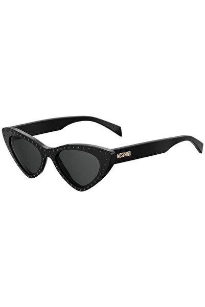Moschino Kadın Siyah Güneş Gözlüğü 2m2ır-52