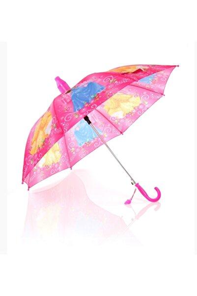 Sarıkaya Kız Çocuk Pembe Sindirella Şemsiye