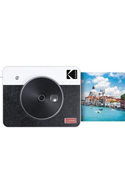 Kodak Mini Shot Combo 3 Retro - Anında Baskı Dijital Fotoğraf Makinesi - Beyaz