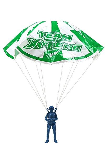 Binbirreyon Mavi Paraşütçü Asker Uçurtma Paraşüt Oyuncak 60 cm Pc200-2