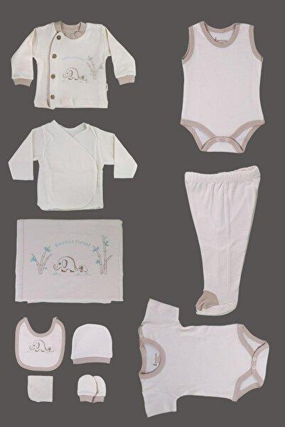 Bebbek Organik Yeni Doğan Hastane Çıkışı 10 Lu Seti Yeni Doğan Bebek Kıyafetleri