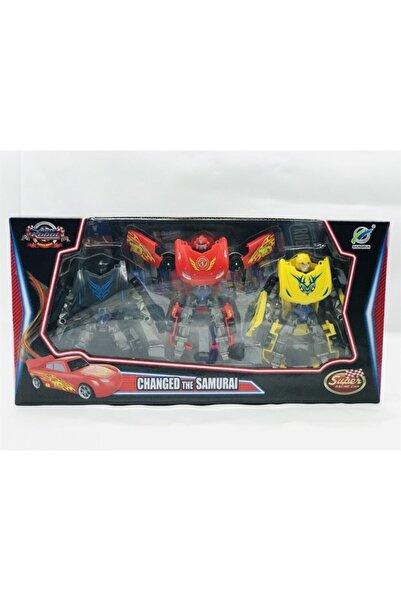 transformers Robota Dönüşen 3 Lü Arabalar