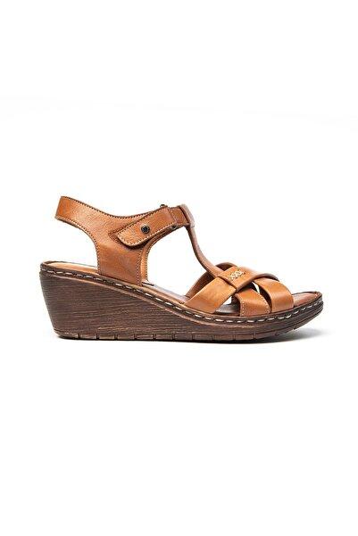 Greyder Kadın Kahverengi Sandalet