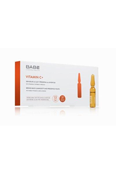Babe Vitamin C+10'lu Ampül - Aydınlatıcı Bakım Serumu 10 X 2 Ml