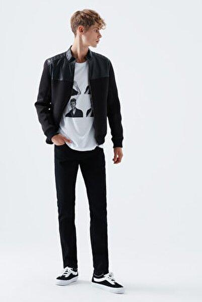 Erkek Siyah Jake Foggy Black Pantolon
