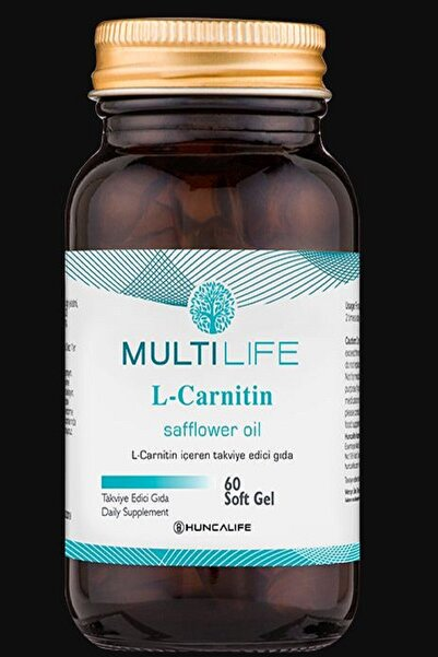 Huncalife Multilife Cla L-carnıtın 60 Soft Gel