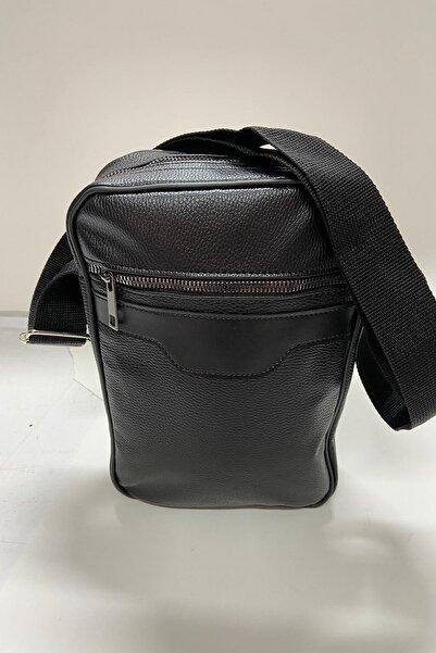Scooter Erkek Siyah Omuz Askılı Çanta