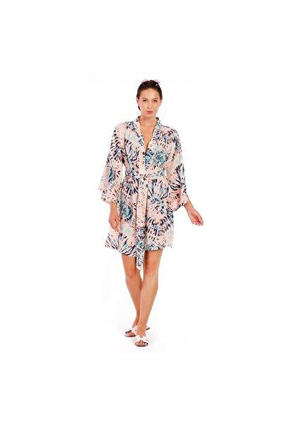 ALİKİ Kadın Karışık Desen Kimono