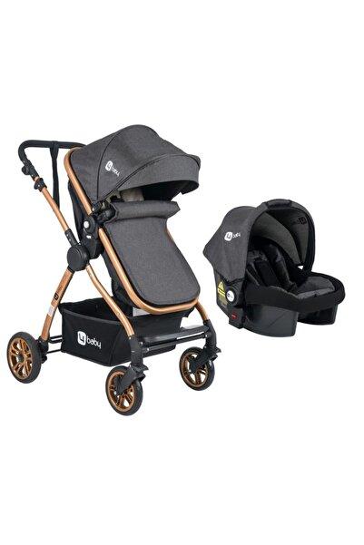 bebegen Four Baby Travel Sistem Pusetli Gold Gri Bebek Arabası