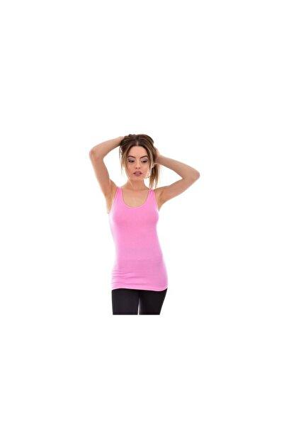 Tutku Kadın Pembe Geniş Askı Atlet 0174