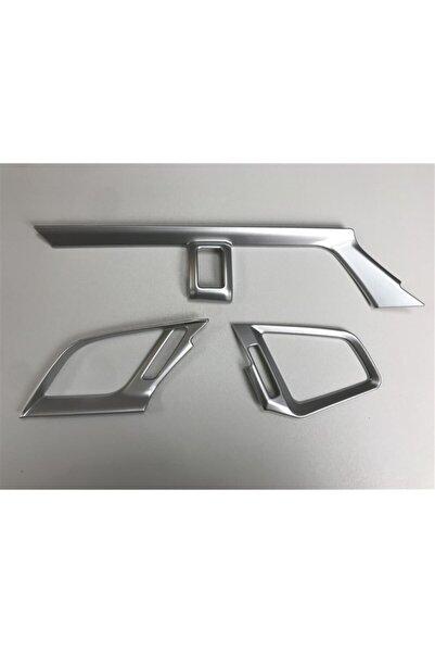 REPLAX Honda Civic Fc5 Fk7 Silver Hava Menfez Kaplama 3 Parça