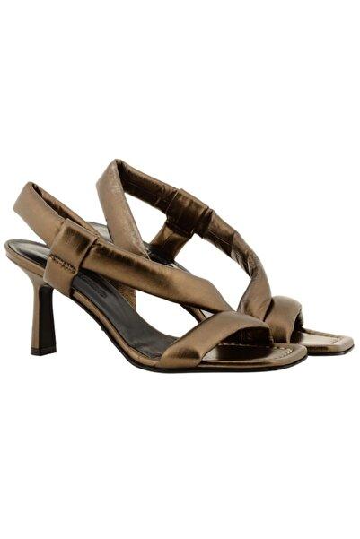 Nursace Kadın Yeşil Topuklu Ayakkabı A64729