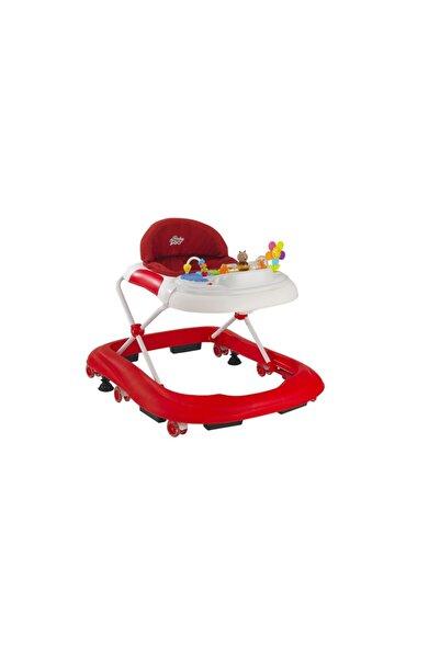 MAYA BABY Baby2go 2083 Happy Lüks Yürüteç Kırmızı