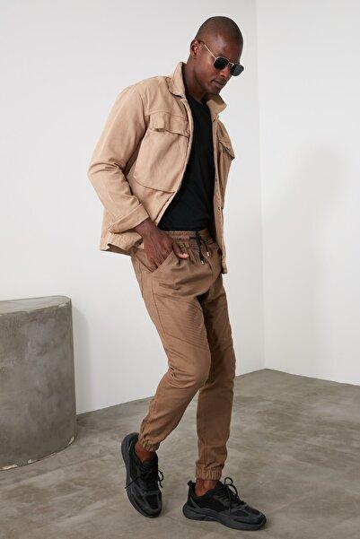TRENDYOL MAN Camel Erkek Jogger Pantolon TMNAW21PL0246