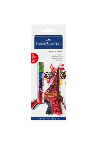 Faber Castell 12ml  12li Akrilik Boya