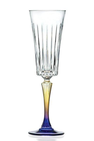 RCR Crystal Rcr Gipsy Şampanya Kadehi 210 Ml 6'lı Set