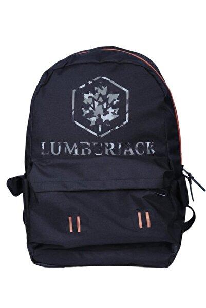 lumberjack Siyah Unisex Sırt Çantası 100567872