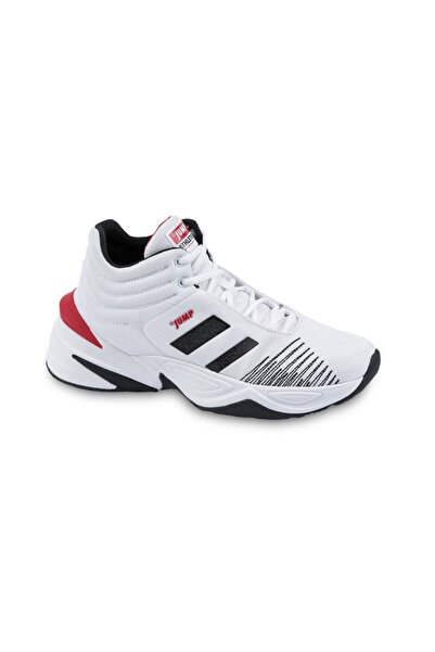 Jump Erkek Beyaz  24774 Basketbol Spor Ayakkabı