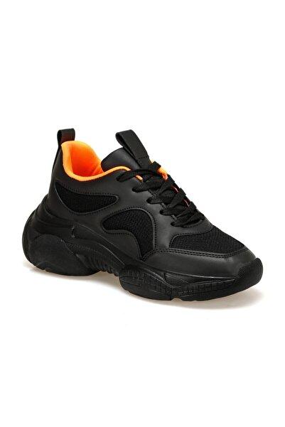 Butigo Kadın Siyah Turuncu Sneaker