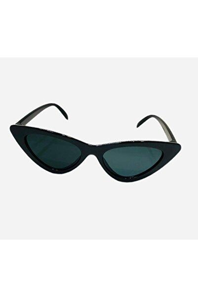 premit Kız Çocuk Siyah Cat Eye Güneş Gözlüğü
