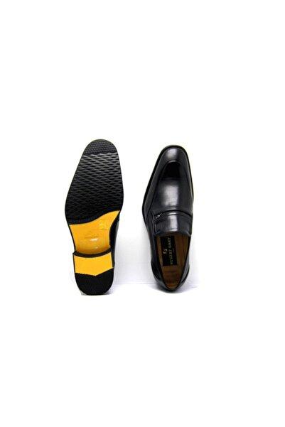 Nevzat Onay Erkek Siyah Hakiki Deri Jürdan Ayakkabı
