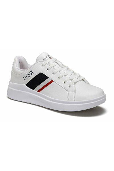 U.S POLO Erkek Beyaz Sneaker Ayakkabı 9pr