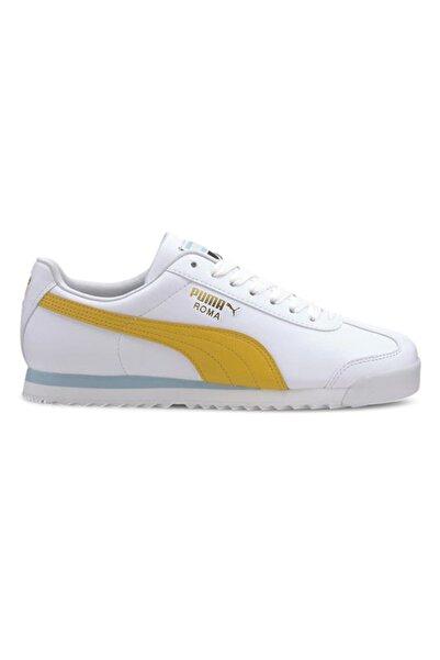 Puma Roma Basic Unisex Beyaz Günlük Ayakkabı 36957113