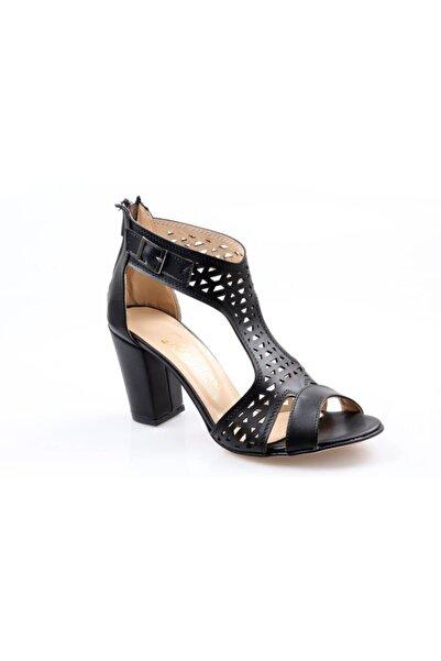 Nehir Bayan Topuklu Kafes Ayakkabı