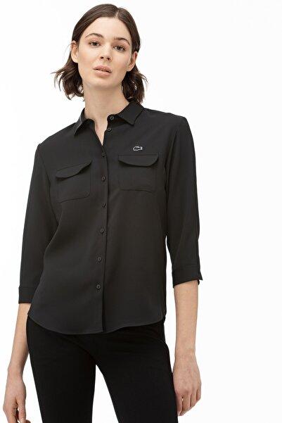 Lacoste Kadın Siyah Gömlek CF0002