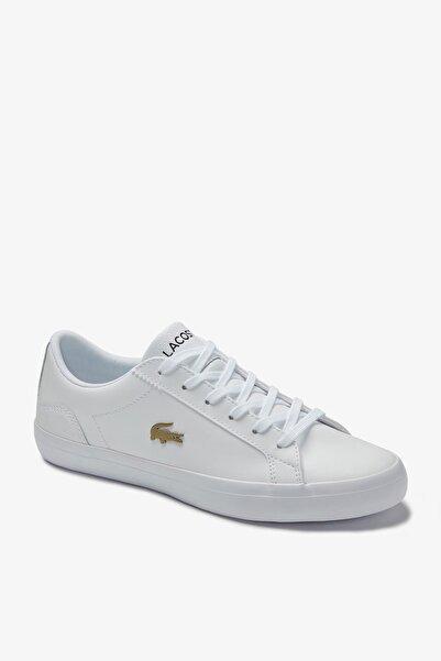 Lacoste Lerond 0120 2 Cfa Kadın Deri Beyaz Casual Ayakkabı 740CFA0003