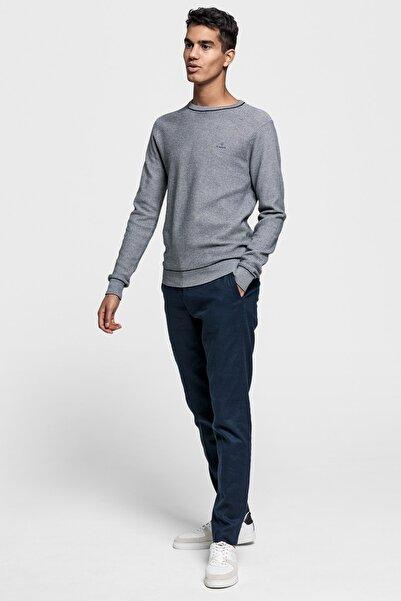 Gant Erkek Lacivert Slim Fit Keten Pantolon 1505026